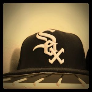 Cooperstown White Sox Fitted Cap 7 5/8